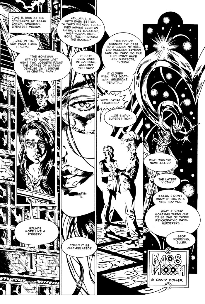 Kaos Moon The Goatman Of Central Park Page 2