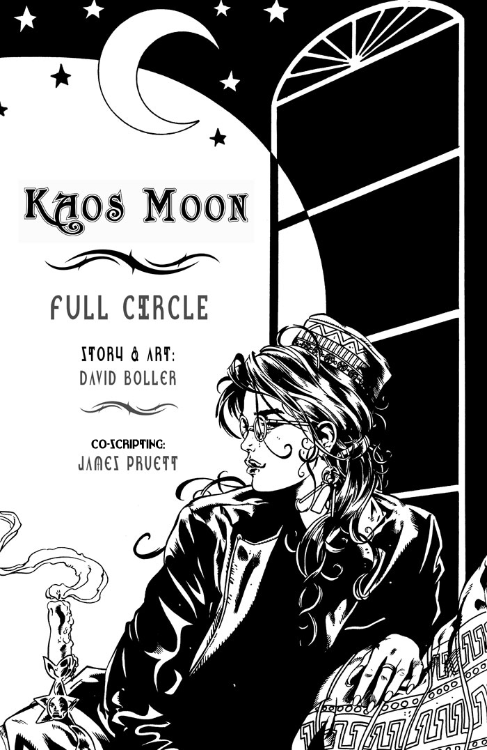 Kaos Moon Full Circle Page 1