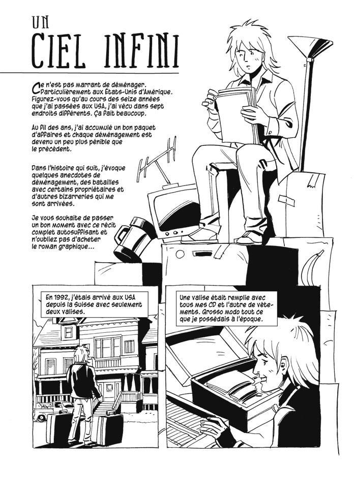 Un Ciel Infini Les Deboires Des Demenagements Page 1