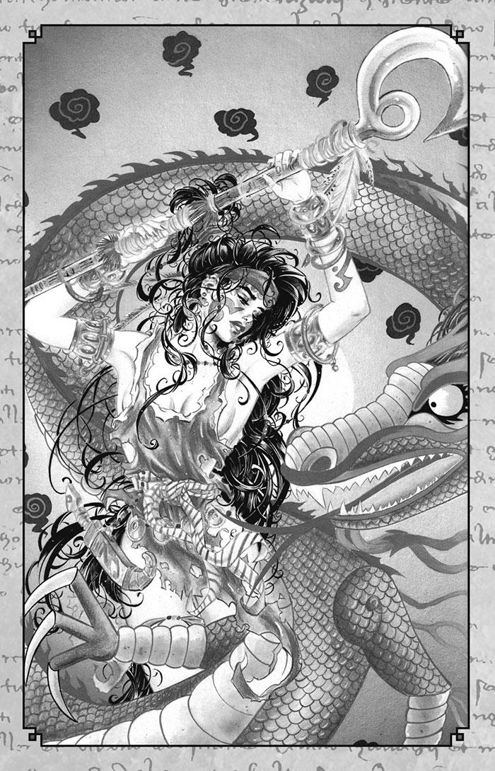 Kaos Moon Illustration01